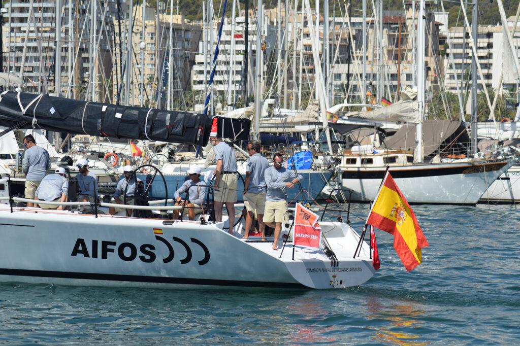 Tripulación AIFOS 500 Rey Felipe VI